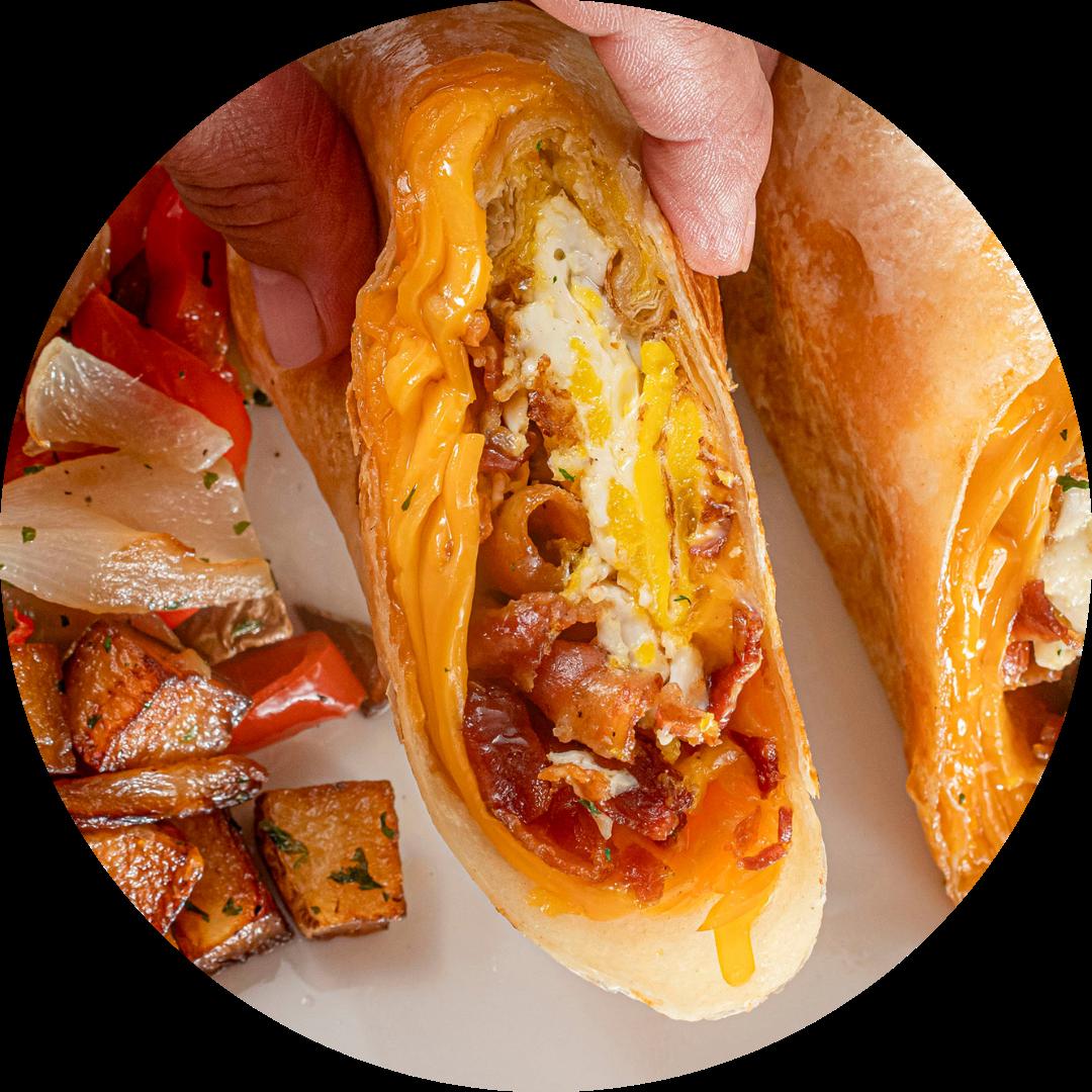 Bacon, Egg & Cheese Wrap